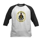 USS Spruance DD-963 Navy Ship Kids Baseball Jersey
