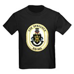 USS Spruance DD-963 Navy Ship Kids Dark T-Shirt