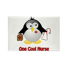 One Cool Nurse Rectangle Magnet