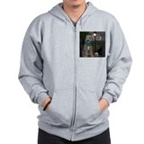 Bedlington Terrier Zip Hoody
