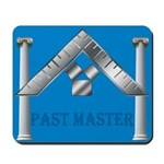 Masonic Past Master Euclid Mousepad