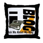 iblog Throw Pillow