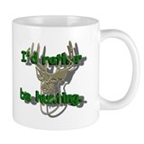 Deer Hunter Ceramic Coffee Small Mug