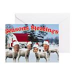 &Quot;Season's Bleatings!&Quot; 10 Pack