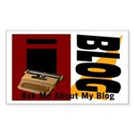 iblog Rectangle Sticker