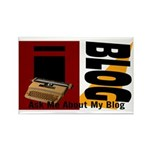 iblog Rectangle Magnet (100 pack)