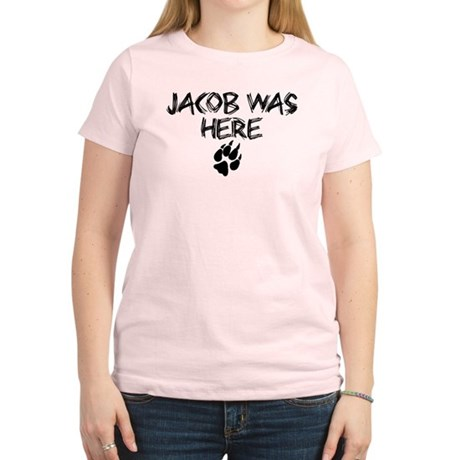 Jacob was here Twilight Women's Light T-Shirt