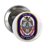 "USS Salvor ARS 52 Navy Ship 2.25"" Button (10 pack)"