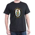 USS Russell DDG-59 Navy Ship Dark T-Shirt