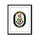 USS Russell DDG-59 Navy Ship Framed Panel Print