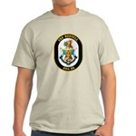 USS Russell DDG-59 Navy Ship Light T-Shirt
