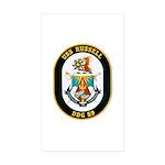 USS Russell DDG-59 Navy Ship Rectangle Sticker 50
