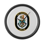 USS Russell DDG-59 Navy Ship Large Wall Clock