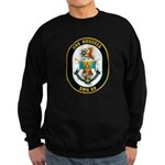 USS Russell DDG-59 Navy Ship Sweatshirt (dark)