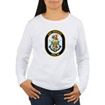 USS Russell DDG-59 Navy Ship Women's Long Sleeve T