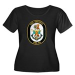 USS Russell DDG-59 Navy Ship Women's Plus Size Sco