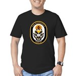 USS Roosevelt DDG-80 Navy Ship Men's Fitted T-Shir