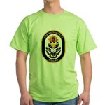 USS Roosevelt DDG-80 Navy Ship Green T-Shirt