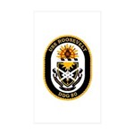 USS Roosevelt DDG-80 Navy Ship Rectangle Sticker