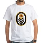 USS Roosevelt DDG-80 Navy Ship White T-Shirt