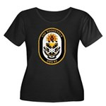 USS Roosevelt DDG-80 Navy Ship Women's Plus Size S