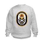 USS Roosevelt DDG-80 Navy Ship Kids Sweatshirt