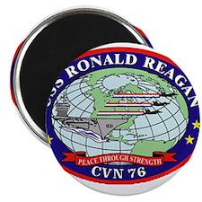USS Ronald Regan CVN-76 Navy Ship Magnet