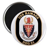 USS Ramage DDG-61 Navy Ship Magnet