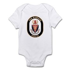 USS Ramage DDG-61 Navy Ship Infant Bodysuit
