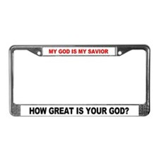 Funny How License Plate Frame
