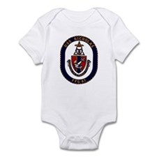 USS Nicholas FFG-47 Navy Ship Infant Bodysuit