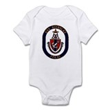 USS Nicholas FFG-47 Navy Ship Onesie