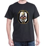 USS Mobile Bay CG-53 Navy Ship Dark T-Shirt