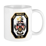 USS Mobile Bay CG-53 Navy Ship Mug