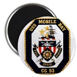 USS Mobile Bay CG-53 Navy Ship Magnet