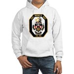 USS Mobile Bay CG-53 Navy Ship Hooded Sweatshirt