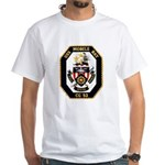 USS Mobile Bay CG-53 Navy Ship White T-Shirt