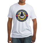 USS Louisville SSN 724 Navy Ship Fitted T-Shirt