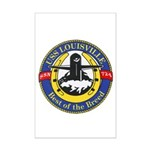 USS Louisville SSN 724 Navy Ship Mini Poster Print