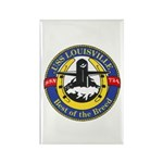 USS Louisville SSN 724 Navy Ship Rectangle Magnet