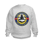 USS Louisville SSN 724 Navy Ship Kids Sweatshirt
