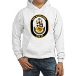 USS Kauffman FFG-59 Navy Ship Hooded Sweatshirt
