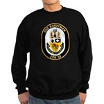 USS Kauffman FFG-59 Navy Ship Sweatshirt (dark)