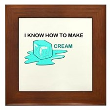 Funny Buy Framed Tile