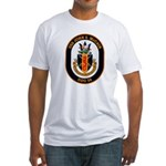 USS John McCain DDG-56 Navy Ship Fitted T-Shirt