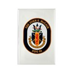 USS John McCain DDG-56 Navy Ship Rectangle Magnet