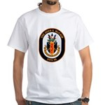 USS John McCain DDG-56 Navy Ship White T-Shirt