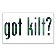 got kilt? Rectangle Sticker 10 pk)