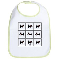 Scottie Blocks Bib