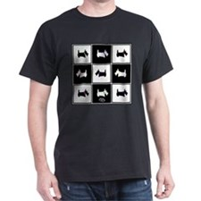 Scottie Tic Tac Toe T-Shirt